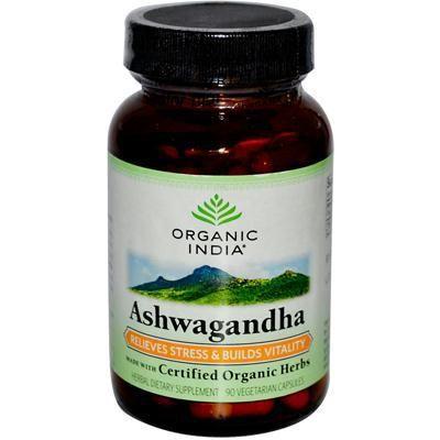 Organic India Organic Ashwagandha (1x90 Vcap)