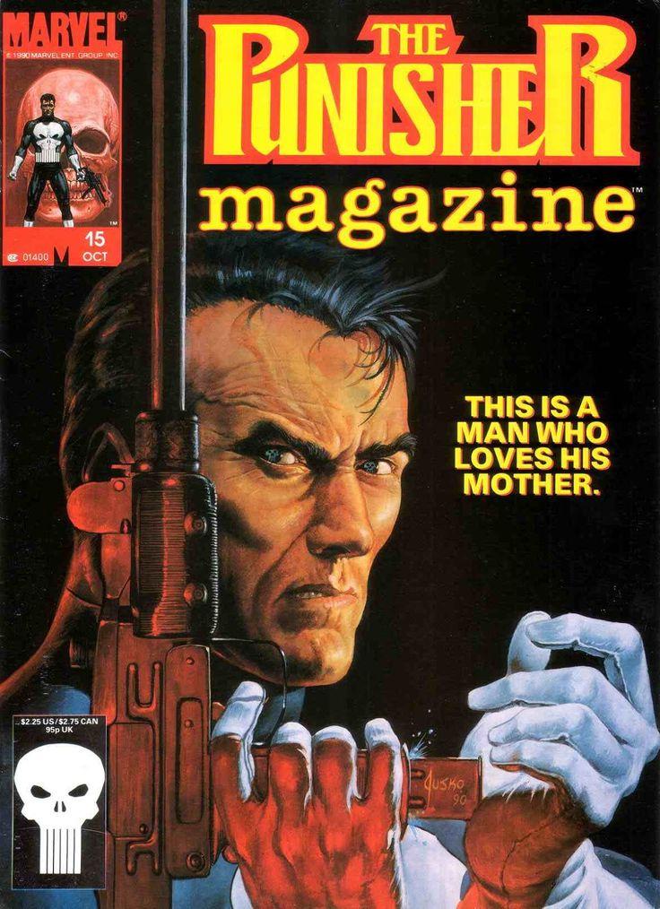 The Punisher Magazine - Marvel Comics