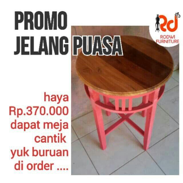 Saya menjual meja shbby seharga Rp370.000. Dapatkan produk ini hanya di Shopee! https://shopee.co.id/rodwifurniture/30278524 #ShopeeID