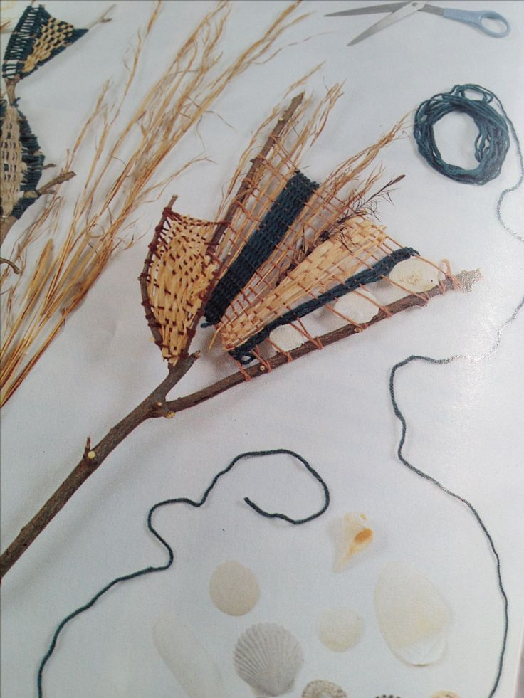 """Twig weaving. Re-pinned by Elizabeth VanBuskirk, author of """"Beyond the Stones of Machu Picchu: Folk Tales and Stories of Inca Life"""" (Thrums Books 12.l.13.) """"Weaving & Art Teaching Ideas."""""""