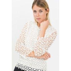 Blouse droite en guipure manches 3/4 SULLIVAN PAUL AND JOE SISTER - Chemises & blouses
