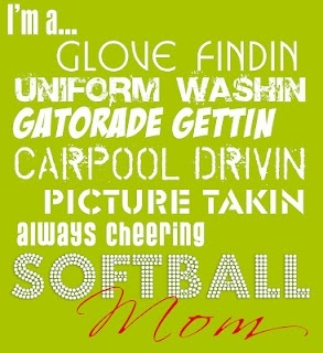 Softball Mom! softball