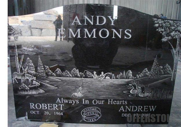 Etched Headstones Laser Etched Monuments Gt Mg0544 Deer