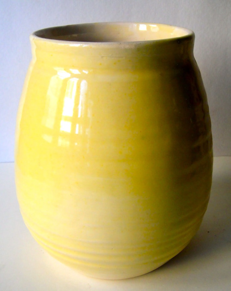 ceramica, smalto limone