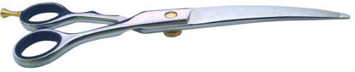 488-HC Curved Pet Grooming Shear - http://www.thepuppy.org/488-hc-curved-pet-grooming-shear/
