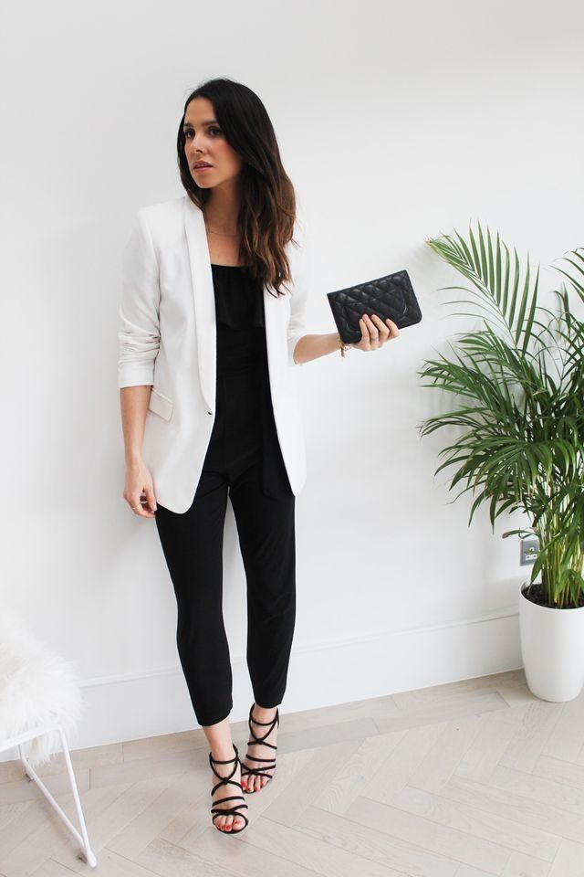 45 Stylish Winter Office Outfits with Jumpsuit