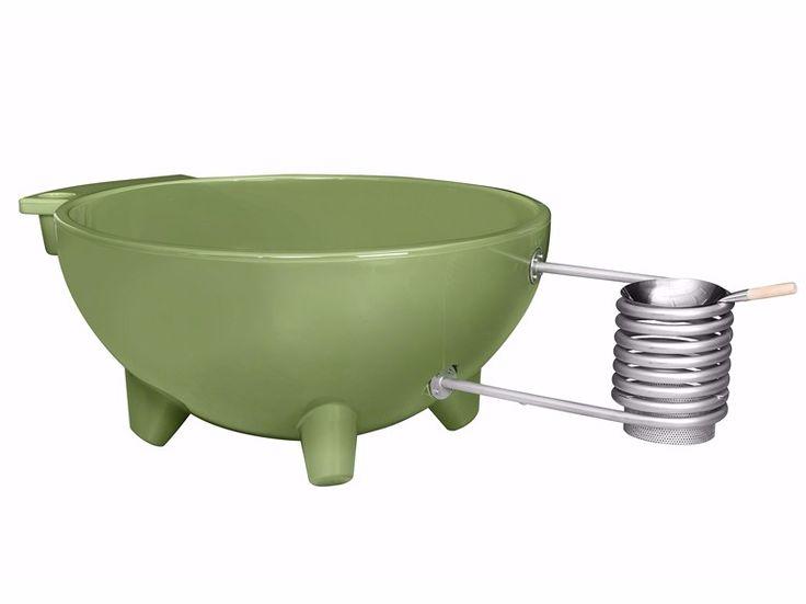 Vasca da bagno rotonda su piedi DUTCHTUB ORIGINAL - Weltevree