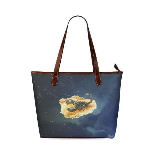 Scorpion Shoulder Tote Bag. FREE Shipping. #artsadd #bags #scorpion