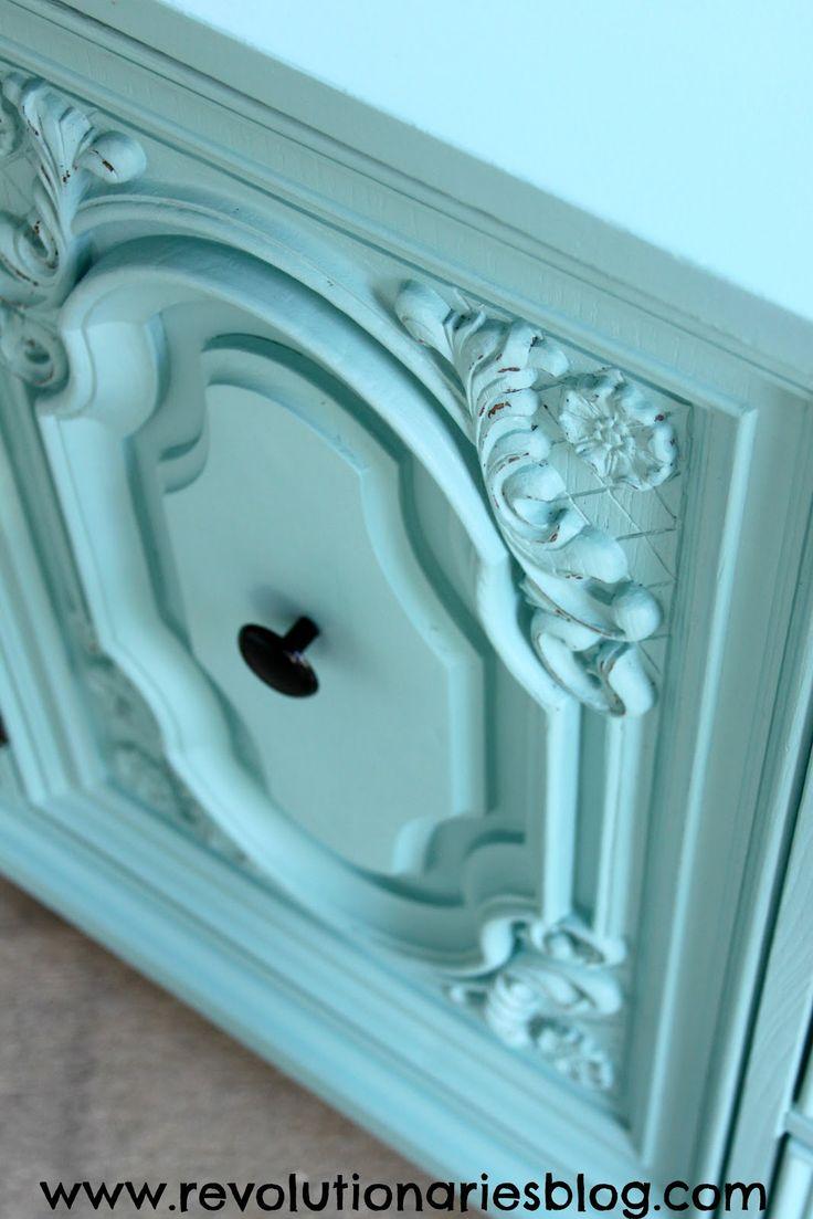 Before & After: The Aqua Mint Dresser