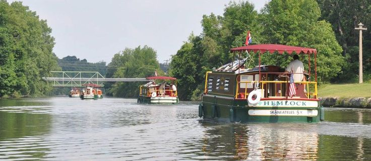 Explore the erie canal at your own pace erie canal boat