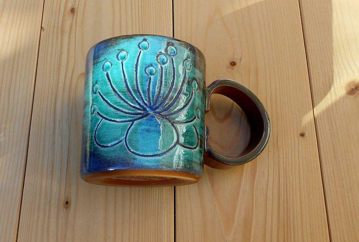 Tazza ceramica fatta a mano tè caffè food safety colazione tempo libero di LeDueTerreeDintorni su Etsy