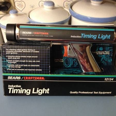 Vintage Sears Craftsman Inductive Timing Light Brand New – auto parts – by owner