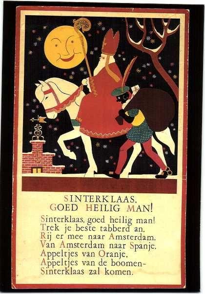 Sint Nicolaas 107 x verschillende ( modern )