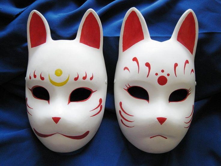 Fox masks 2 by ~Mishutka on deviantART