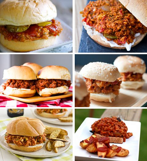 7 Meatless Ways to Serve Sloppy Joes!