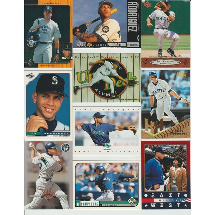 Huge 25 Different ALEX RODRIQUEZ cards lot 1994 - 2002 Mariners Rangers premiums Listing in the 1990-1999,Sets,MLB,Baseball,Sports Cards,Sport Memorabilia & Cards Category on eBid United States | 149042348