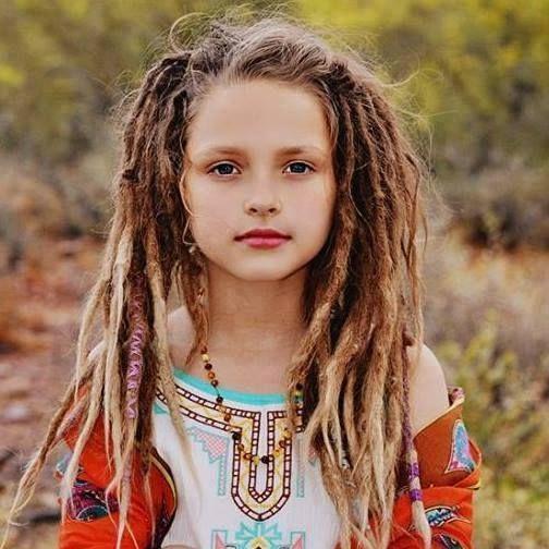 Beautiful little loc child =)