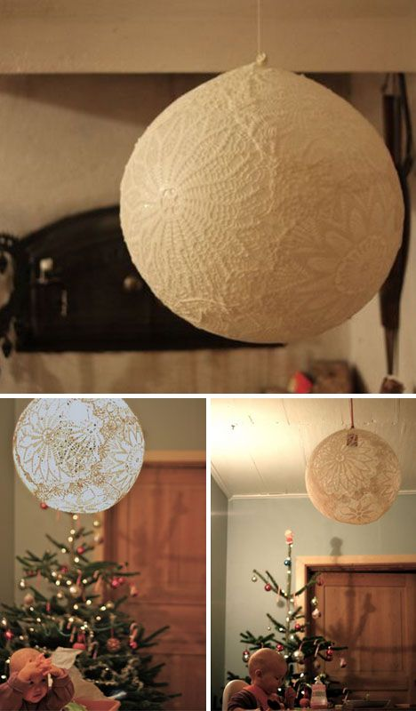 tono festivo lámpara casera