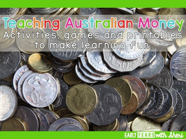 Teaching Australian money from Yr 1-3.