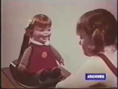Behold, Baby Laugh-a-Lot, who turns innocent little girls into zombie-demons with her laugh. | This '70s Doll Commercial Might As Well Be A Trailer For The World's Scariest Movie