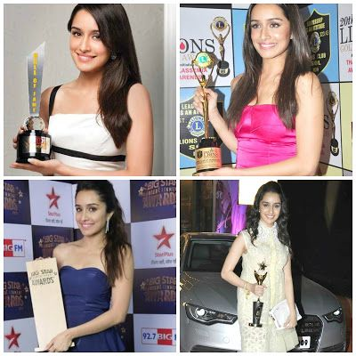 Shraddha's awards