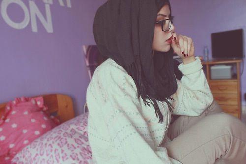I like her hijab style. #hijab