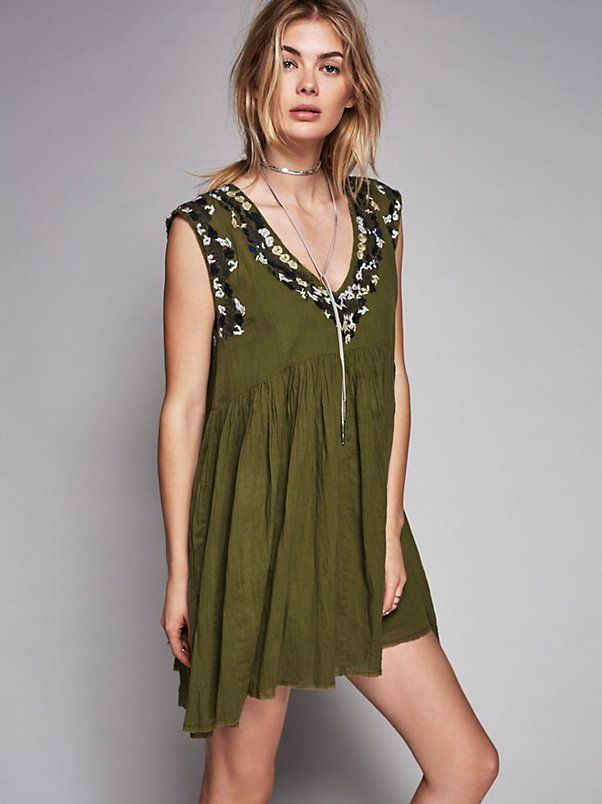FP One FP ONE Modern Mexico Dress at Free People Clothing Boutique