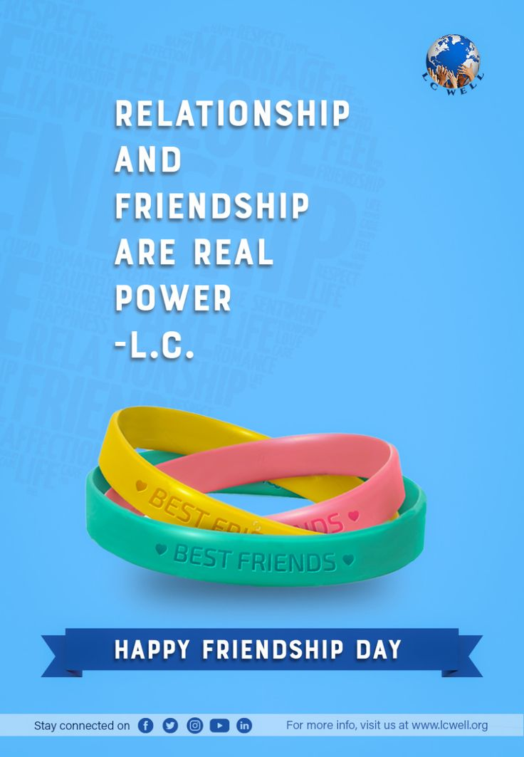 Relationship and Friendship Are Real Power - LC Well - cover