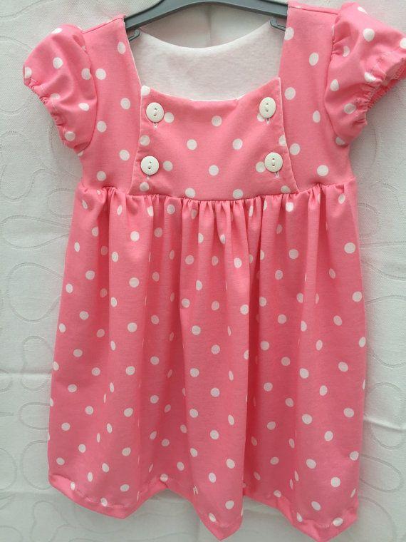 Toddler dress soft jersey girls dress everyday dress size 2T