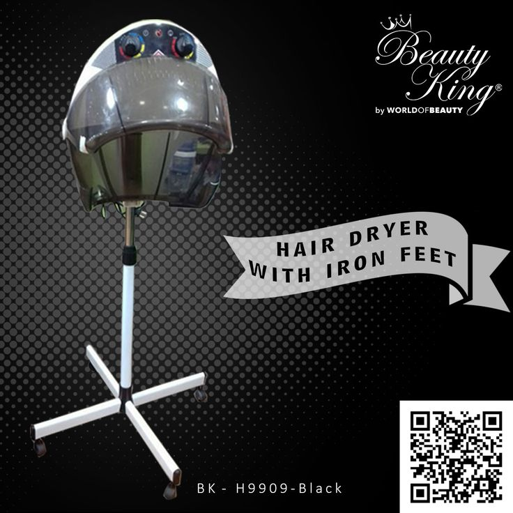 #Beautyking presents #Stand Portable Hair Dryer #Professional #freestanding hair #dryer is a good hair-styling tool in #colouring, #perming, #conditioning and hair drying! As you use it, not only your hair could be beautified, it would also help #message and #relax your head, promote #blood #circulation. #Beautyking