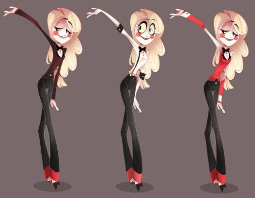 Charlie ref sheet from hazbin hotel by vivzmind for Character hotel