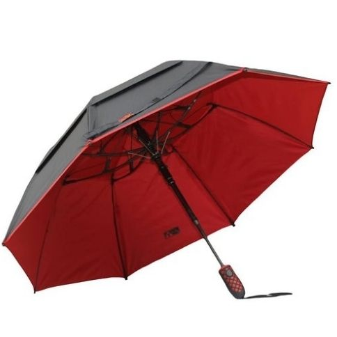 Black Aspen Solo 46-inch Wind Resistant Umbrella