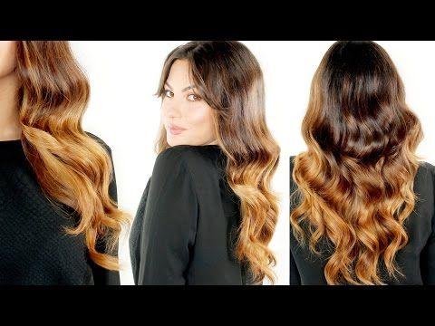 Onde FACILI stile Hollywood - Hair Tutorial - YouTube