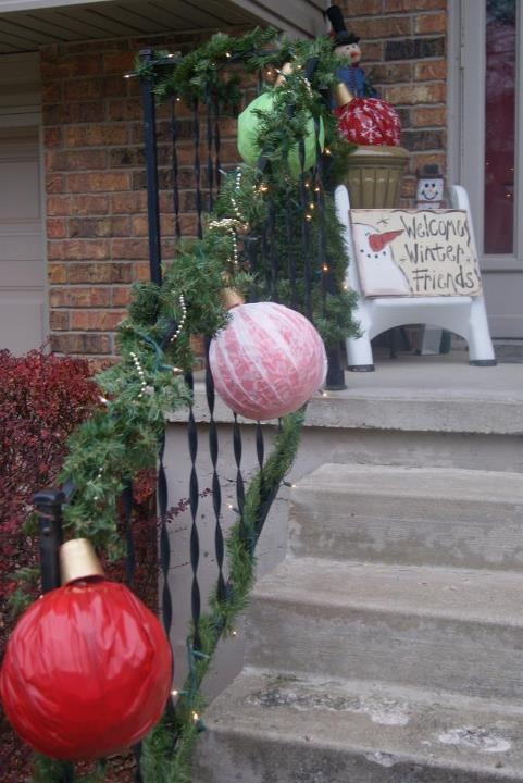 Pin by jessica callahan on jingle bell time is a swell for Outside christmas balls