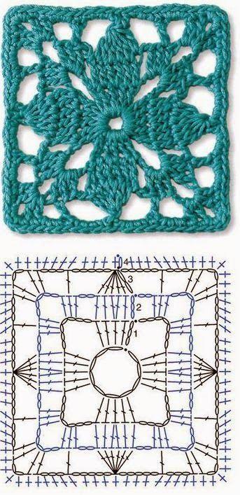 Tecendo Artes em Crochet: Seis Lindos Quadradinhos para Vocês!: