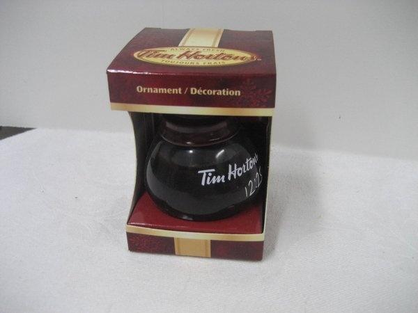 Tim Hortons 2010 Ornament Coffee Pot Hard to find | eBay