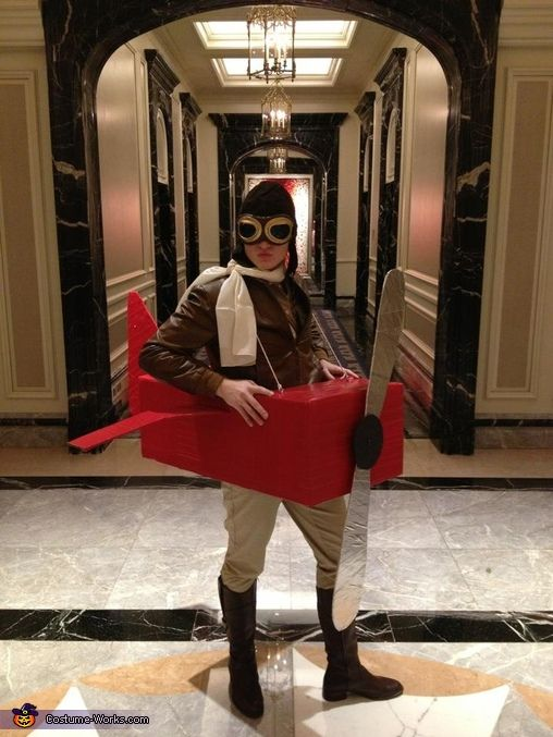 Amelia Earhart - Halloween Costume Contest via @costumeworks