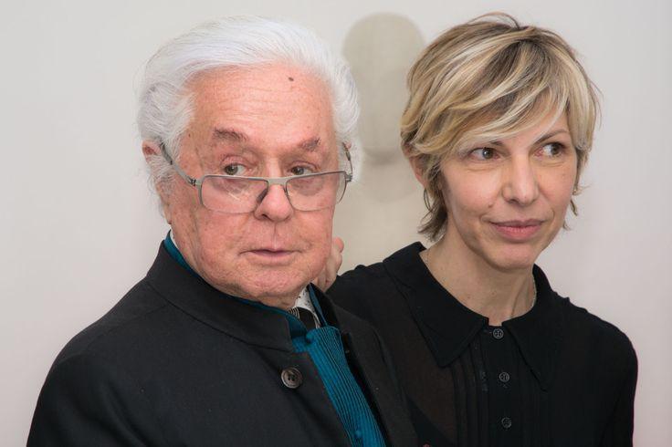 Maestro Roberto Capucci and Designer Cinzia Minghetti