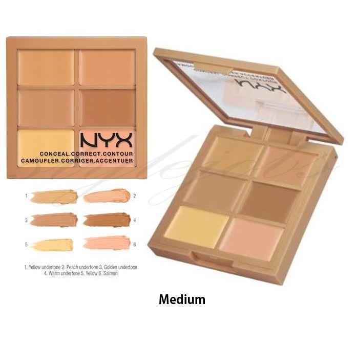 """NYX 3C Conceal Correct Contour Palette """"Pick Any 1"""" in Bellezza e salute, Make up e cosmetici, Trucco viso   eBay"""