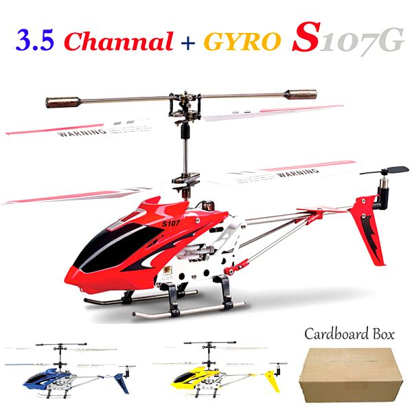 >> Click to Buy << New Cardboard box Syma S107g 3.5 Channel Mini Indoor Co-Axial Metal RC 1 pc #Affiliate
