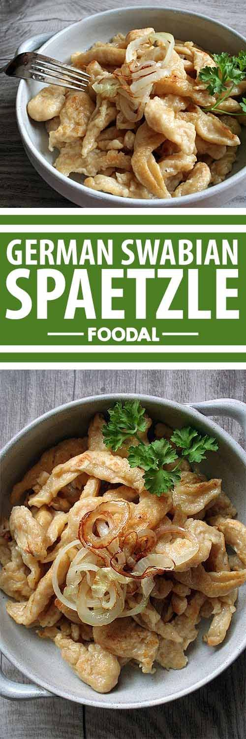 Have you heard about Swabian spaetzle? It's a German noodle that can be adapted…