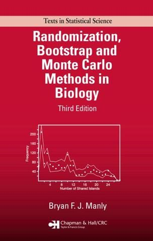Randomization Bootstrap and Monte Carlo Methods in Biology Third Edition; Bryan F.J. Manly; Hardback