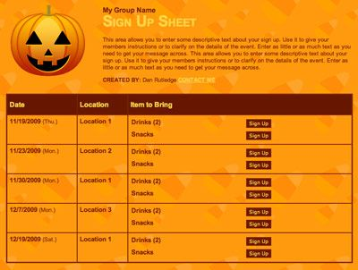 Trying to coordinate a lot of costumed candy fun? SignUpGenius can