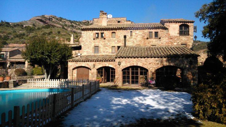 Masia El Romeu Vall d'Horta Sant Llorenç Savall