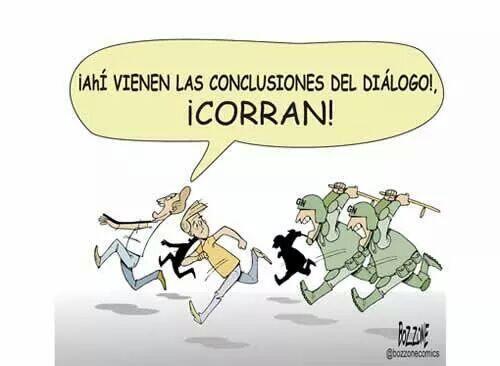 Llegaron las conclusiones del  #ParoAgrario    / #Caricatura