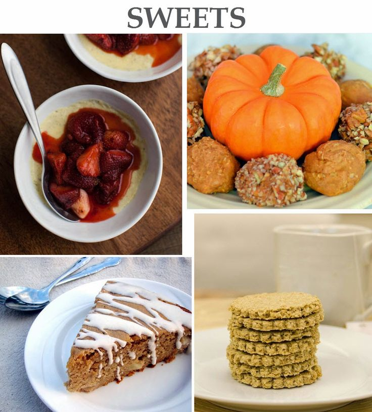 Unprocessed Dessert Recipes via @lucismorsels for #UnprocessedOctober