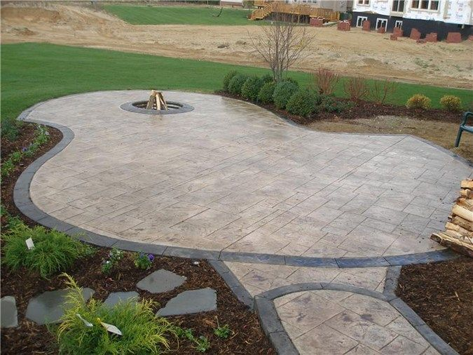 Best 25+ Stamped concrete patios ideas on Pinterest   Concrete ...