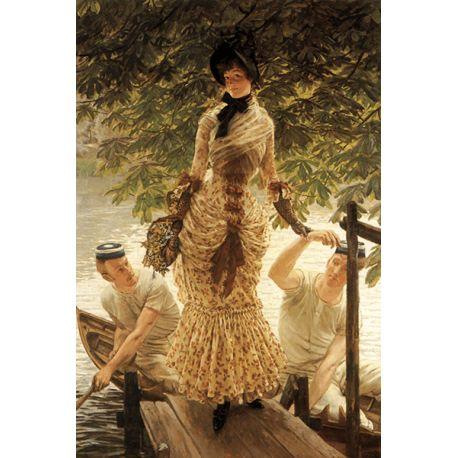 Reprodukcje obrazów James Tissot On the Thames - Fedkolor