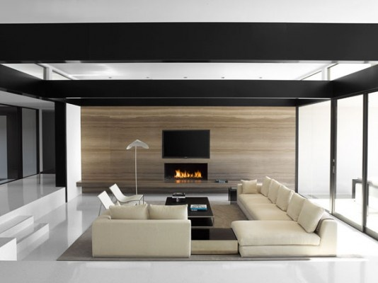Neutral on neutral on neutral.: Interior Design, Living Rooms, Livingrooms, Vera Wang S, Dream House, Interiors, Architecture, Fireplace, Homes