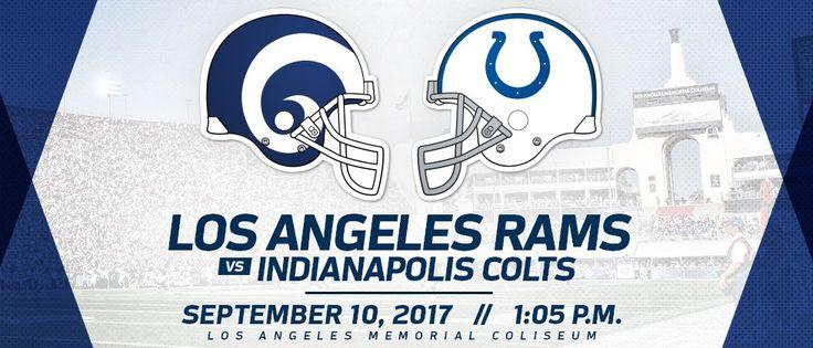 nfl live espn | #NFL - Regular Season | Los Angeles Rams Vs. Indianapolis Colts | Livestream | 10-09-2017